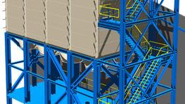 Noodle producer chooses SCE's hygienic silos