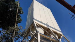 Silo solution for leading corn processing company