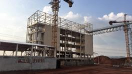 A 300 tons per day efficient flour mill in Uganda